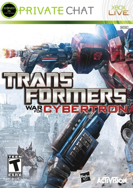 Private Chat #4: Transformers: War For Cybertron