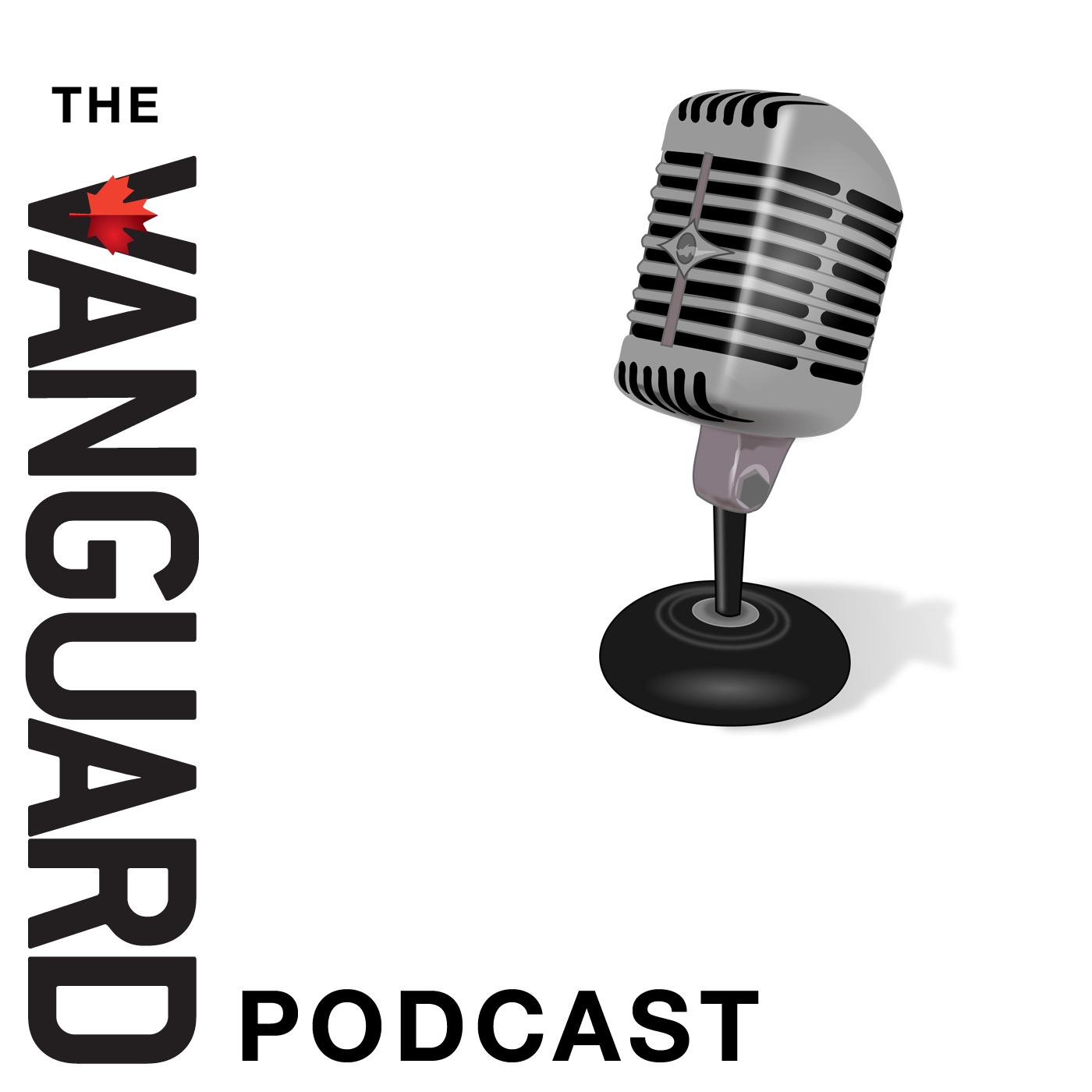 The Vanguard Podcast show art