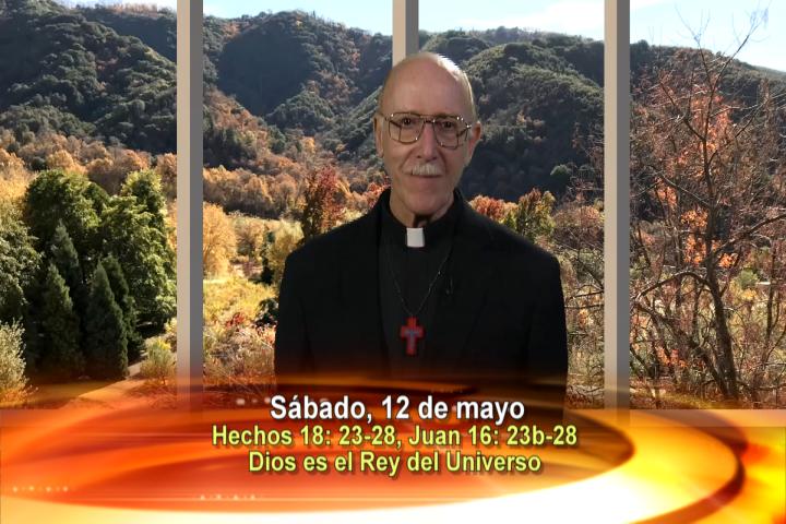 Artwork for Dios te Habla con Fr. Lenny de Pasquale;  Tema el hoy: Dios es el rey del universo