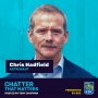 Artwork for CHASING DREAMS MATTERS to Chris Hadfield