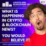Artwork for What is Happening in Crypto & Blockchain News? You Would NOT Believe it! #71