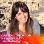 Artwork for S2EP23: MICHELLE RIAL - Carving Out a Job as an Artist