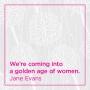 Artwork for The Fullness of Midlife - Jane Evans - 2019