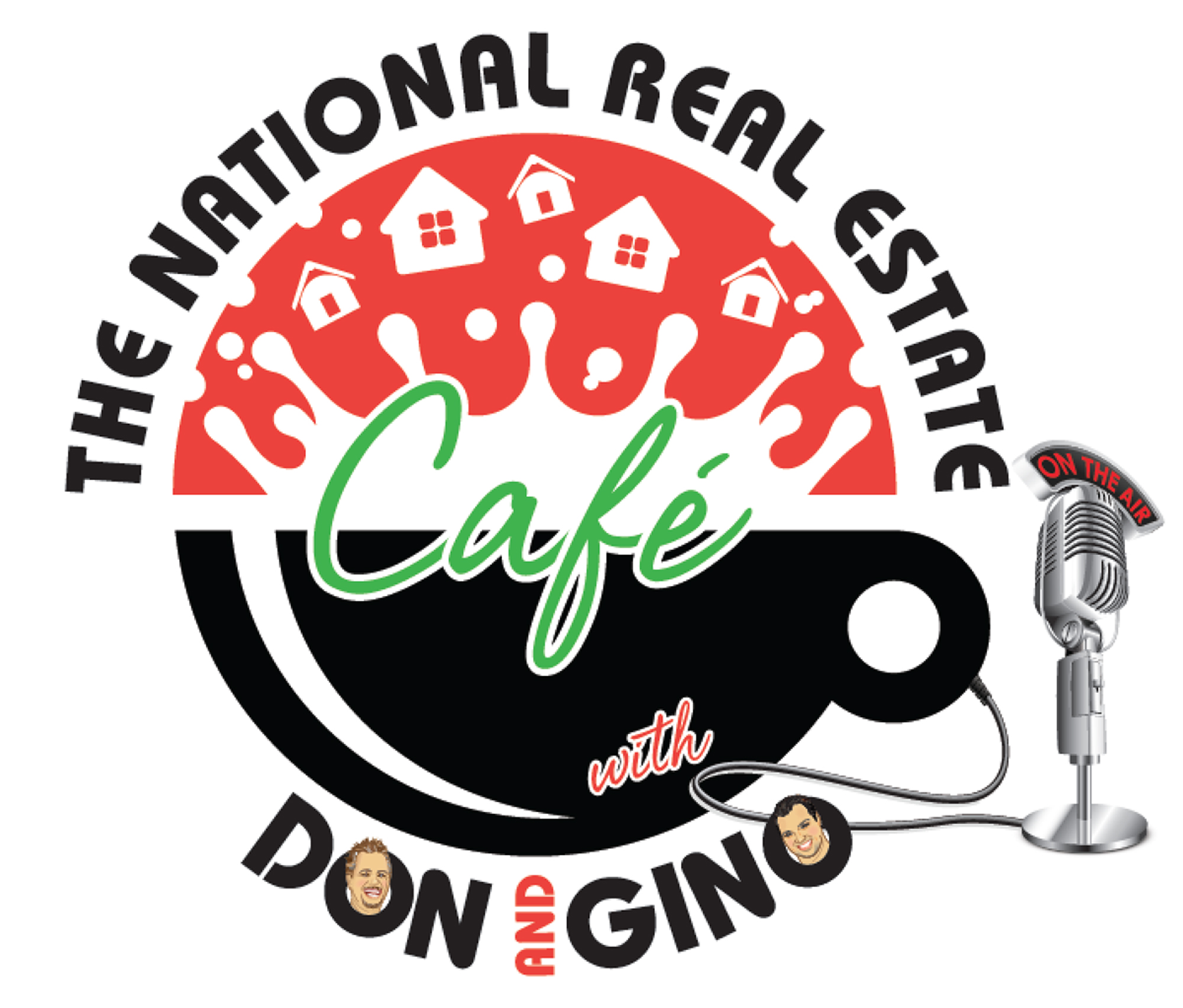 The National Real Estate Cafe's podcast logo