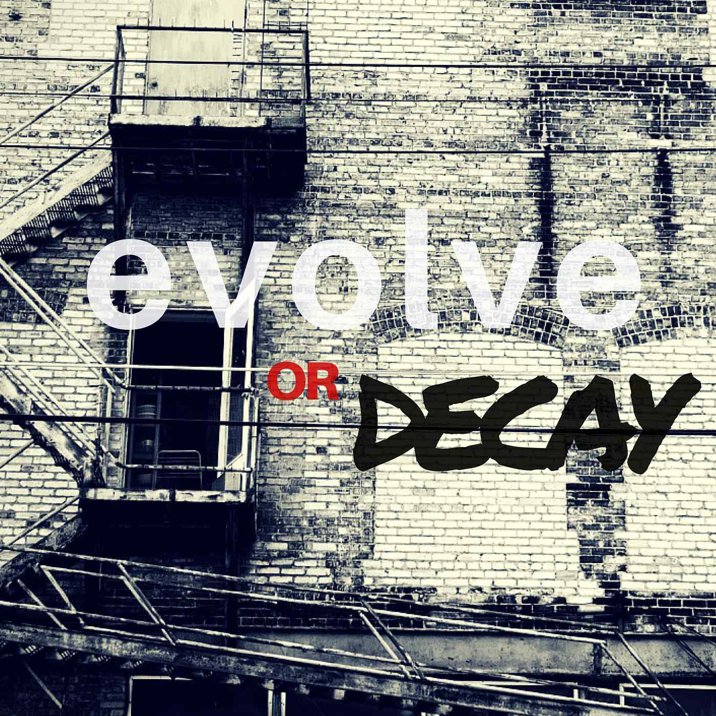 EVOLVE or Decay Ep. 6: Building Blocks to Becoming a Better Man Part 1 show art