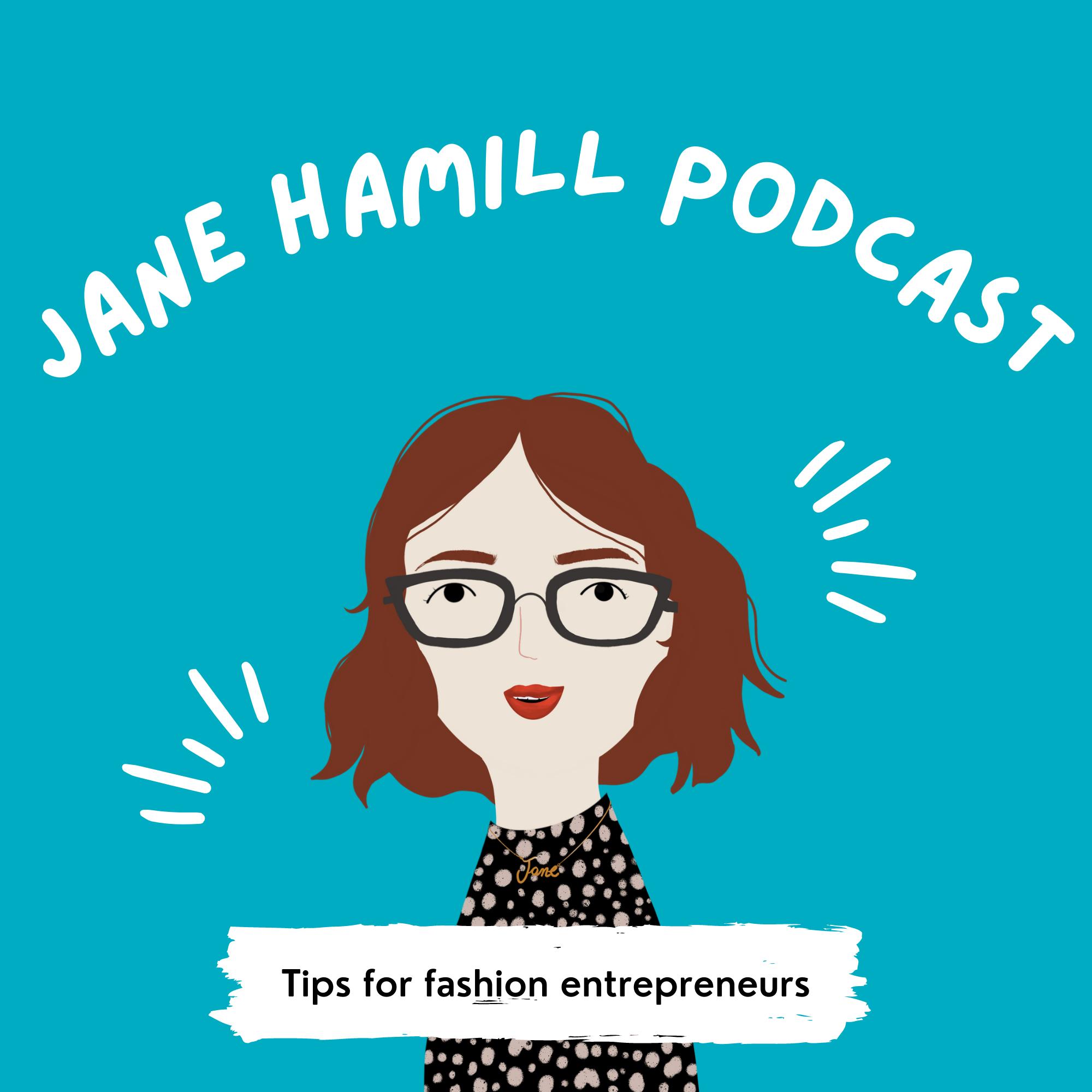 Jane Hamill   Podcast show art