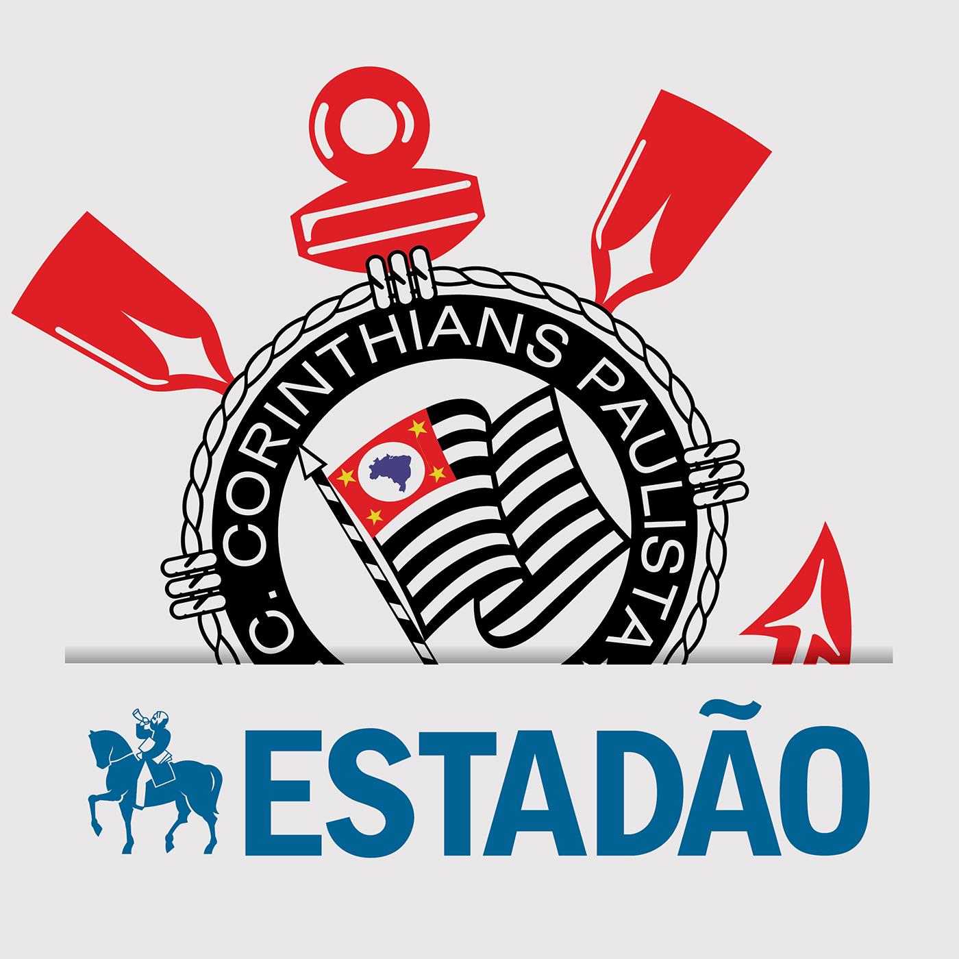 Estadão Corinthians show art