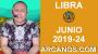 Artwork for HOROSCOPO LIBRA - Semana 2019-24 Del 9 al 15 de junio de 2019 - ARCANOS.COM...