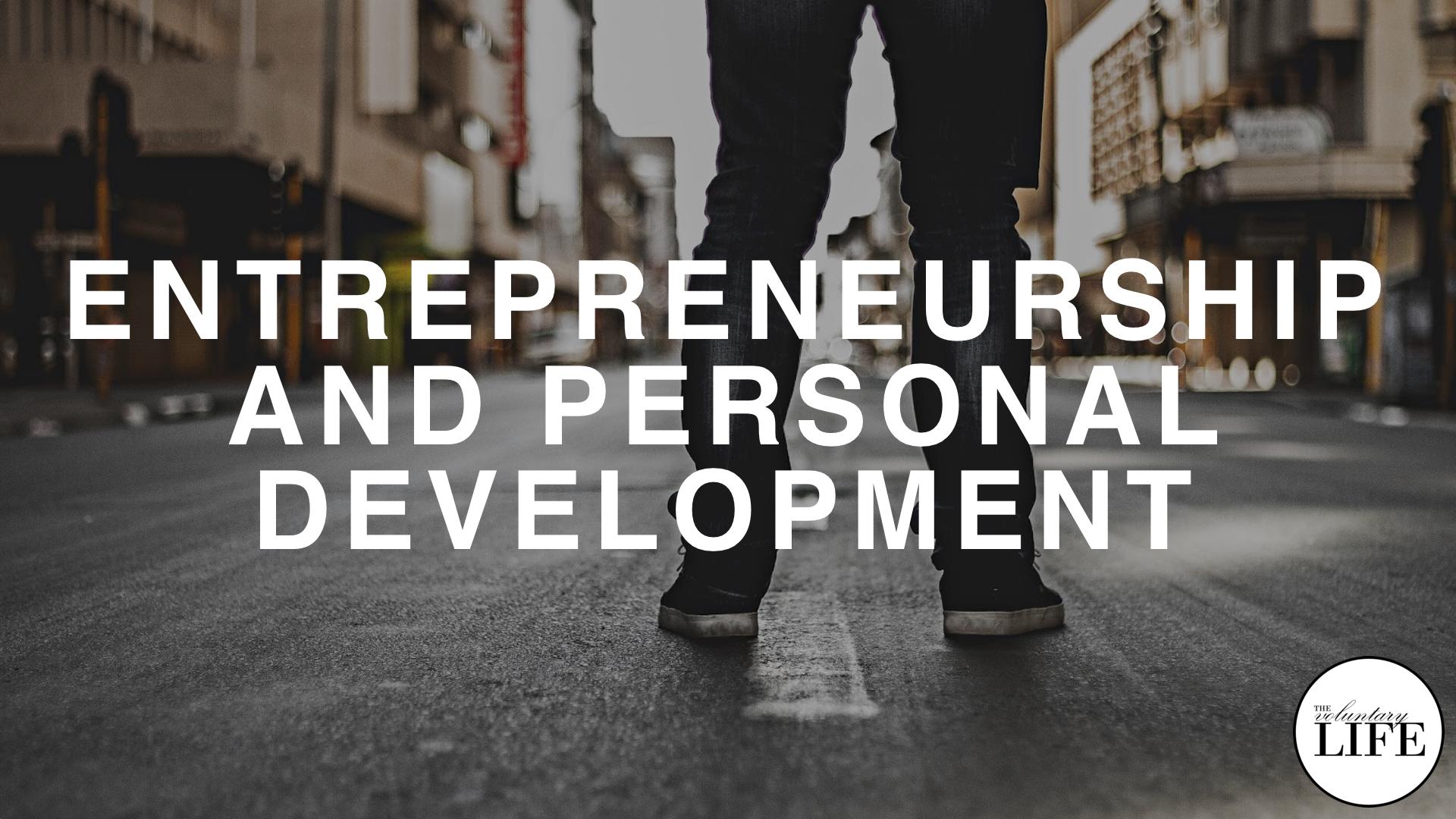 251 Entrepreneurship And Personal Development