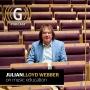 Artwork for Music education with Julian Lloyd Webber