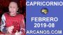 Artwork for HOROSCOPO CAPRICORNIO-Semana 2019-08-Del 17 al 23 de febrero de 2019-ARCANOS.COM...