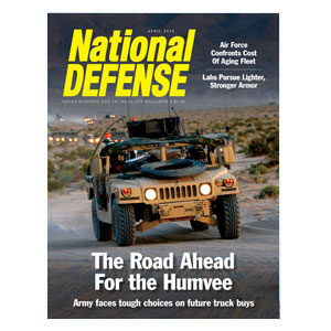 Artwork for The Road Ahead for the Humvee: Army Faces Tough Choices on Future Truck Buys — April 2016