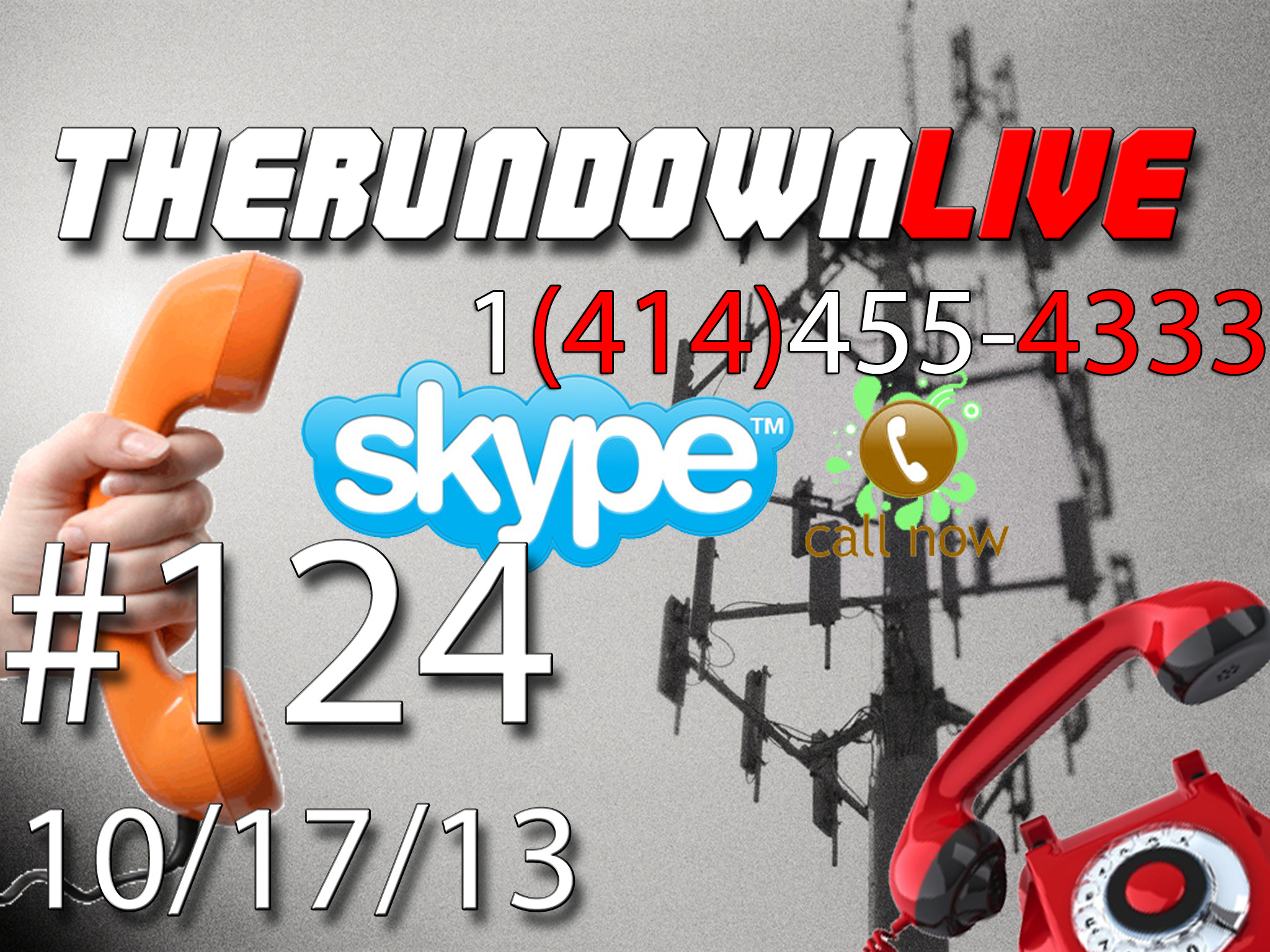 The Rundown Live #124 Open Lines,Tanks,Surveillance,Freemasons,Underwater Internet
