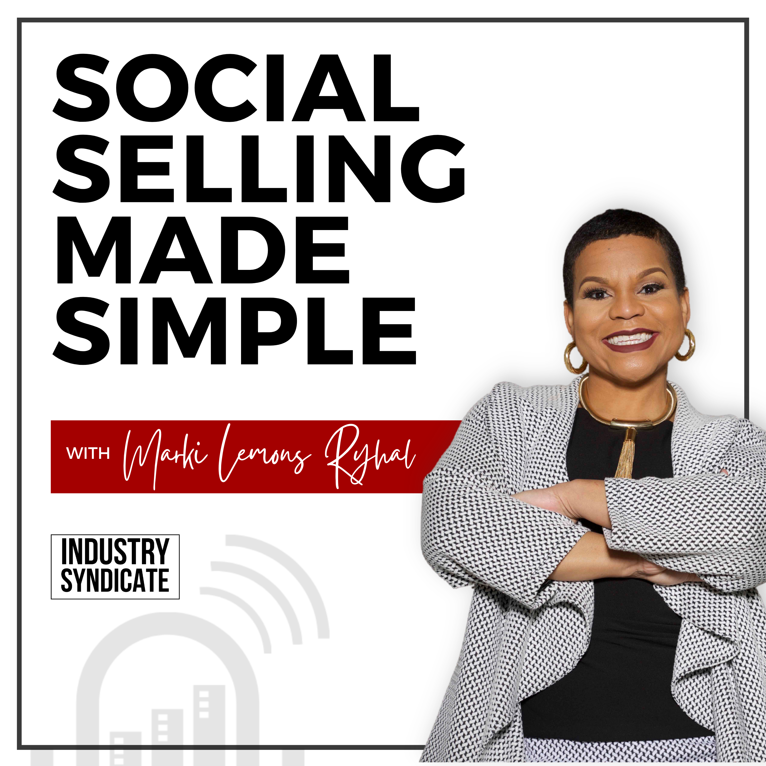 Social Selling Made Simple show art