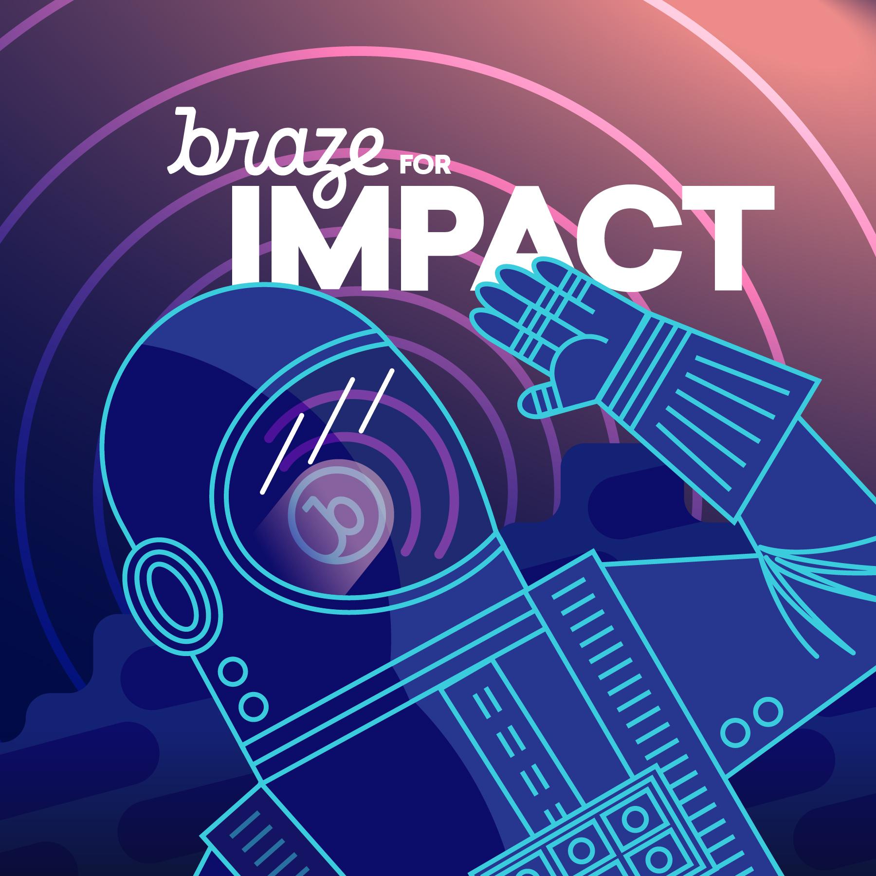 Braze for Impact show art
