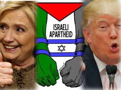 The Imperial Consensus, Part 1: Hillary and Trump, Republicans and the Congressional Black Caucus Agree on Israeli Apartheid