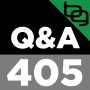 Artwork for 405: How Hard Do You Need To Train For Muscle Gain?, Keto Muscle Building, Protecting Yourself From Pesticides & Much More!