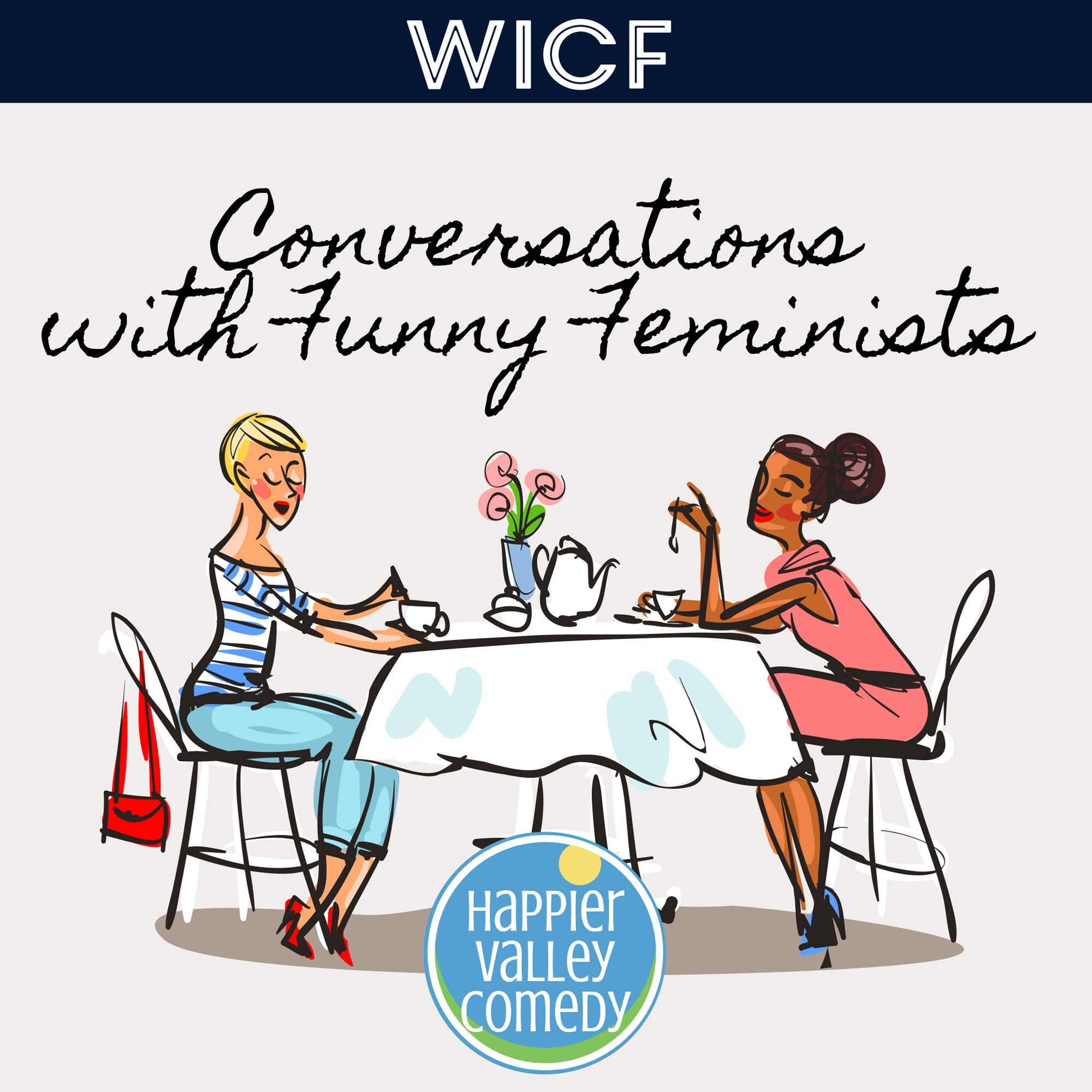 Conversations with Funny Feminists show art