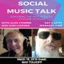 Artwork for 03/16/19 - Social Music Talk: Max Tolkoff