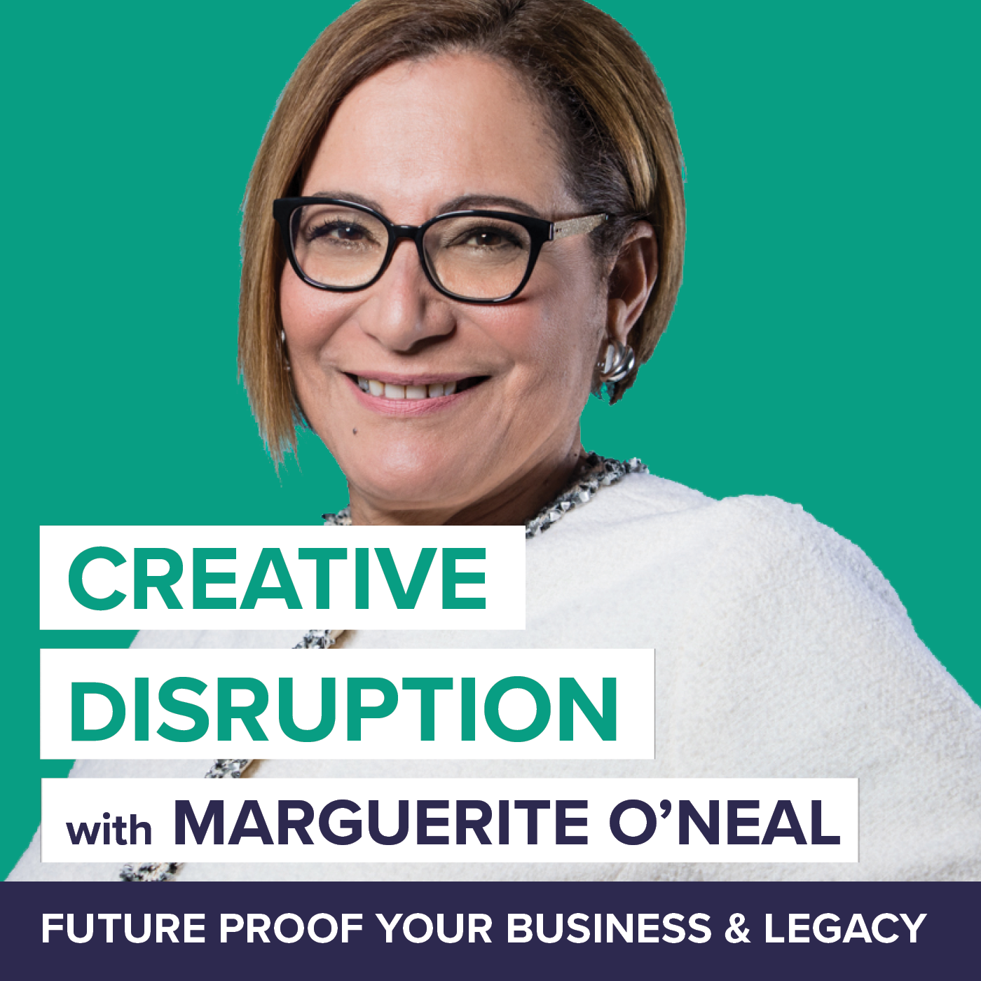 Creative Disruption with Marguerite O'Neal show art
