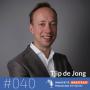Artwork for #040 Tjip de Jong, auteur -  Waarom het tijd is om anders te denken: een andere visie op groei en werk