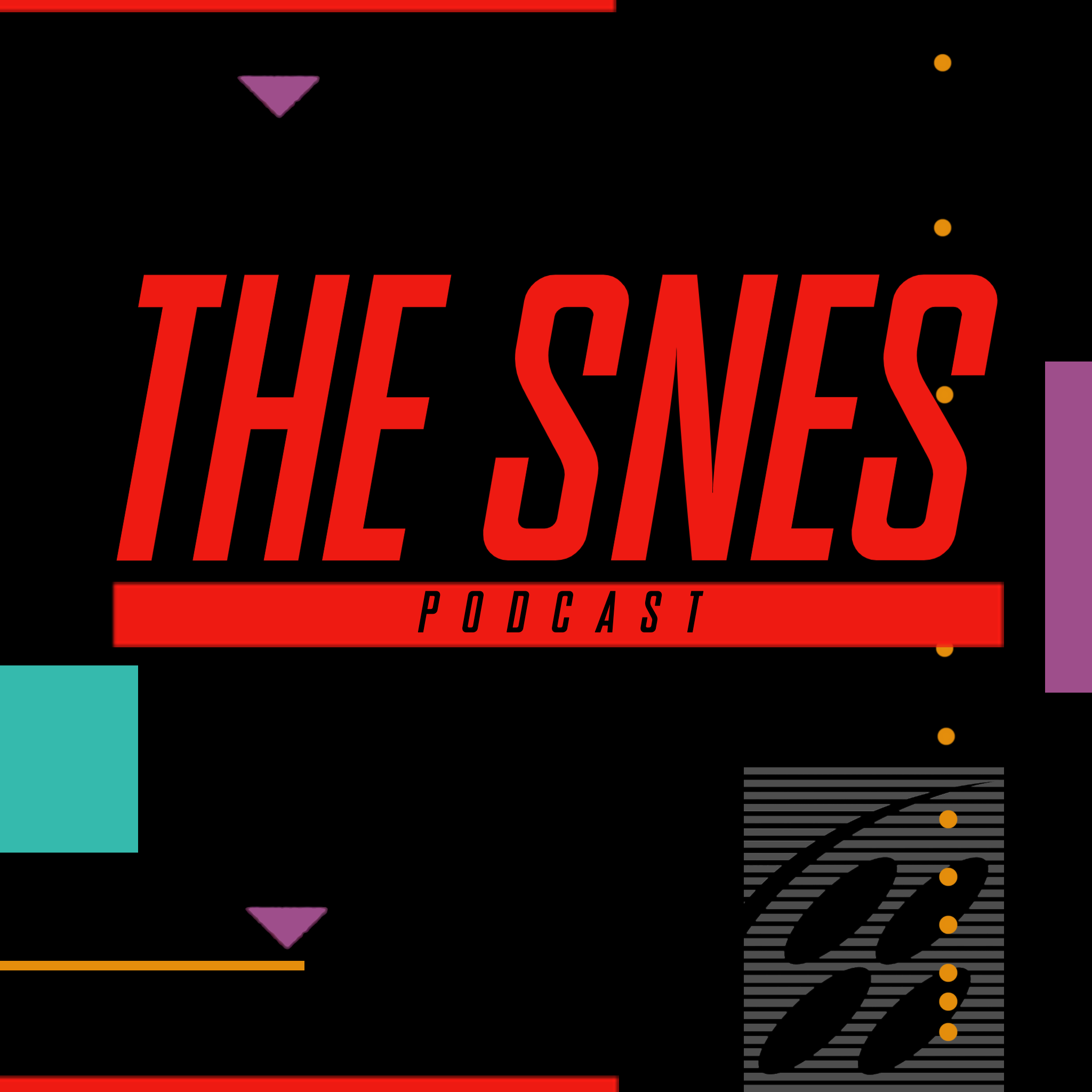 The SNES Podcast show art