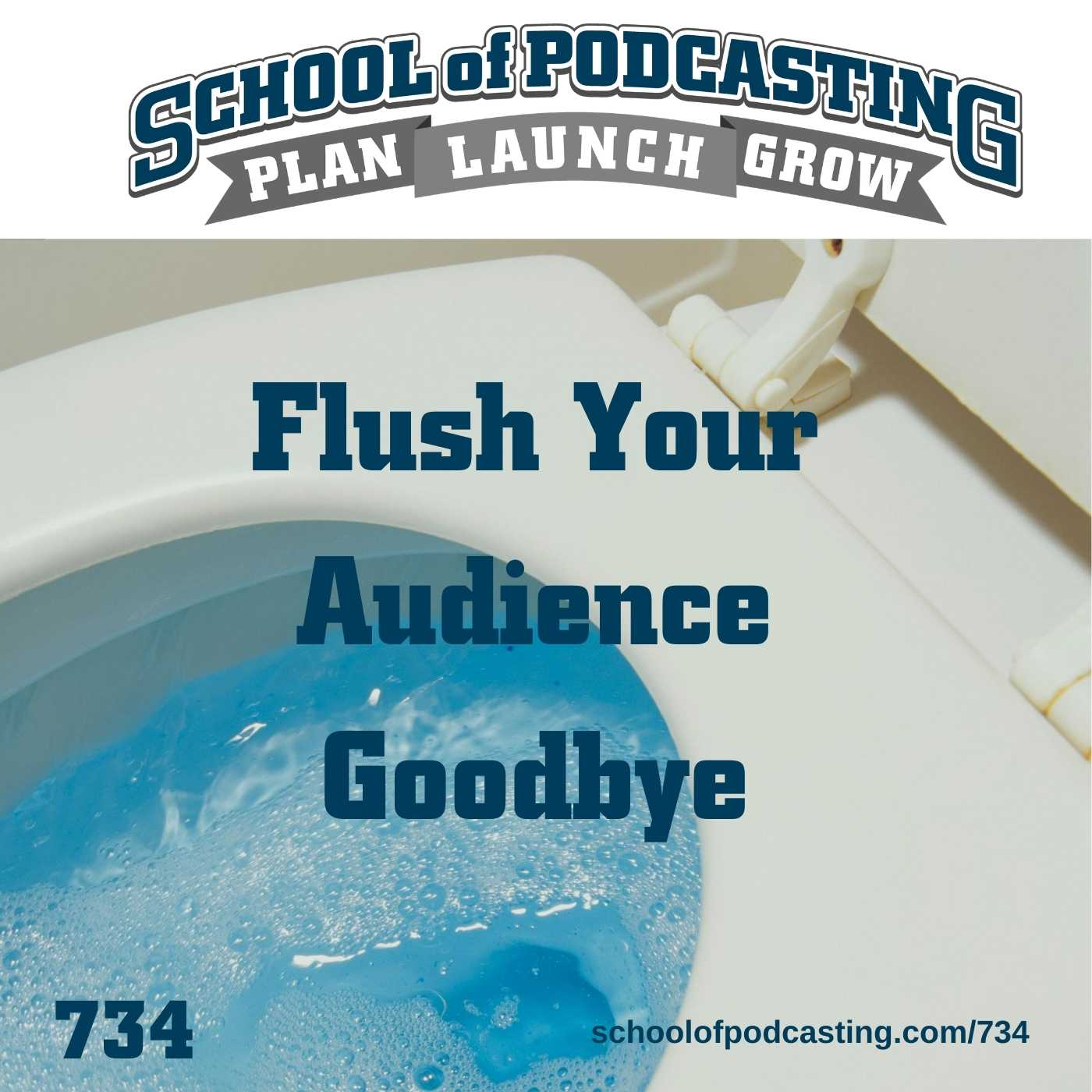Avoid Flushing Your Audience Goodbye