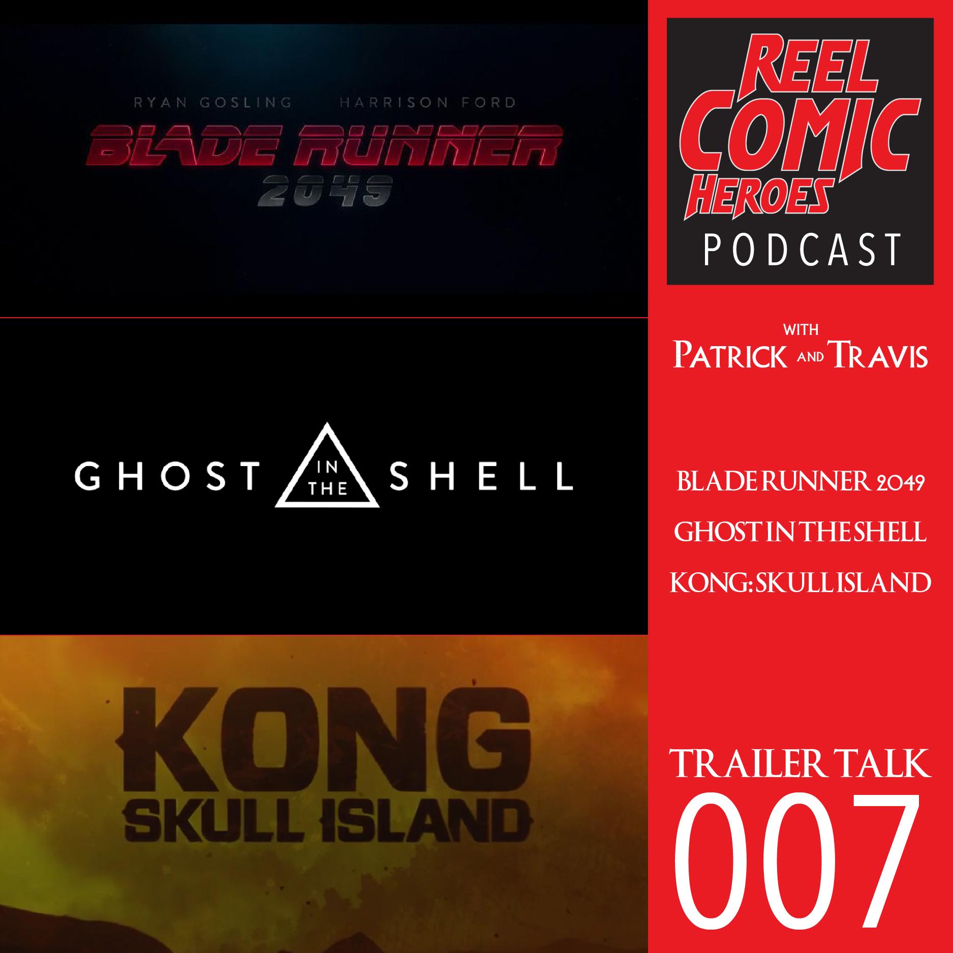 Artwork for Reel Comic Heroes - Trailer Talk 007