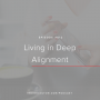 Artwork for Ep. 012   Living in Deep Alignment with Barbara Erochina