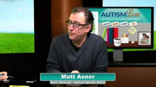 Autism Live, Tuesday March 25th, 2014