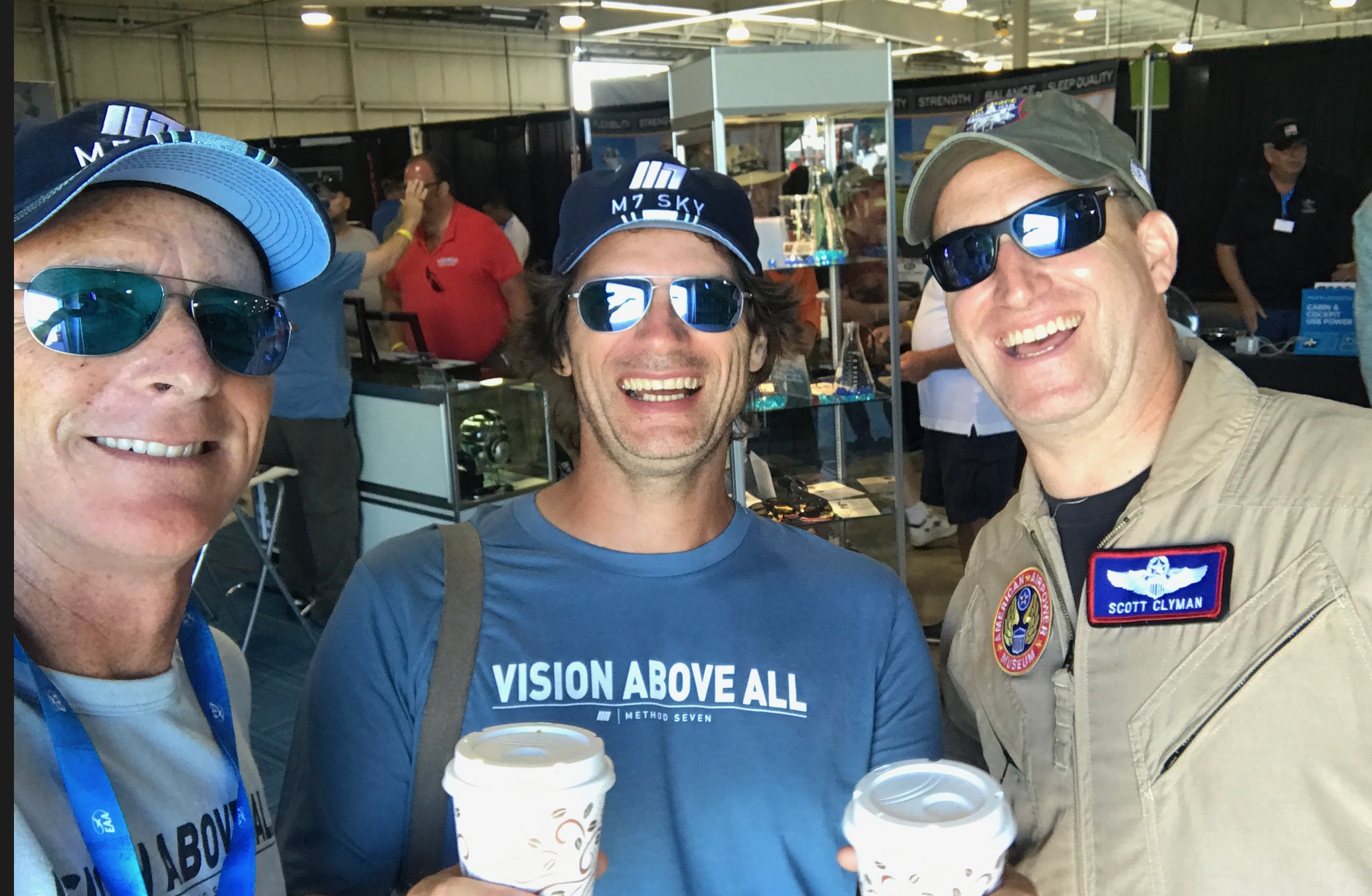 James Cox with a Few Pilots and The Eyewear