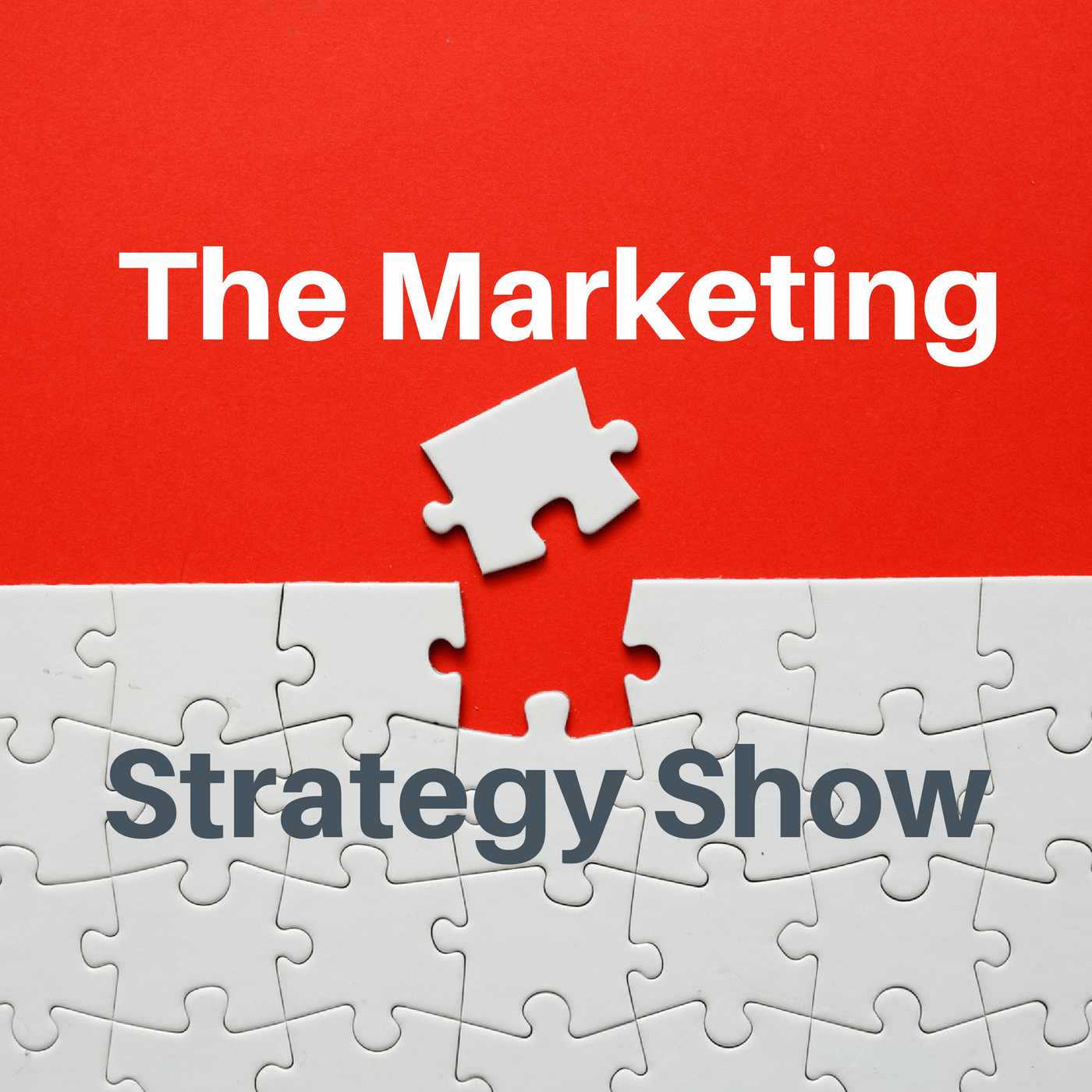 The Marketing Strategy Show show art