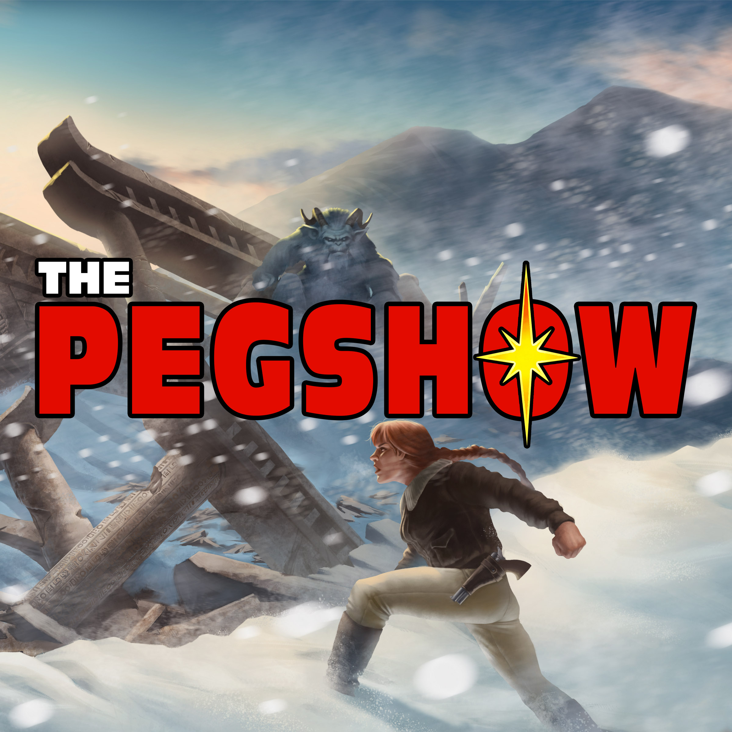 The PEGShow show art