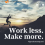 Artwork for #41: WORK LESS AND MAKE MORE - Daily Mentoring w/ Trevor Crane #greatnessquest