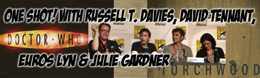 Episode 211 - CNI One Shot! Doctor Who/Torchwood Round Table with David Tennant, Russell T. Davies, Julie Gardner & Euros Lyn