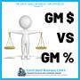 Artwork for Gross Margin Dollars vs Gross Margin Percent