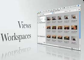 Use Views and Workspaces in the Bridge to be more efficient