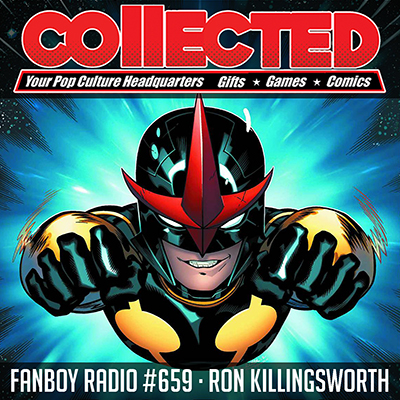 Fanboy Radio #659 - Ron & Amanda from 'Collected'