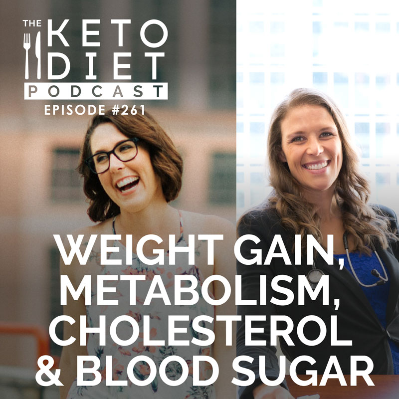 #261 Weight Gain, Metabolism, Cholesterol & Blood Sugar with Dr. Nina Lewis Larsson