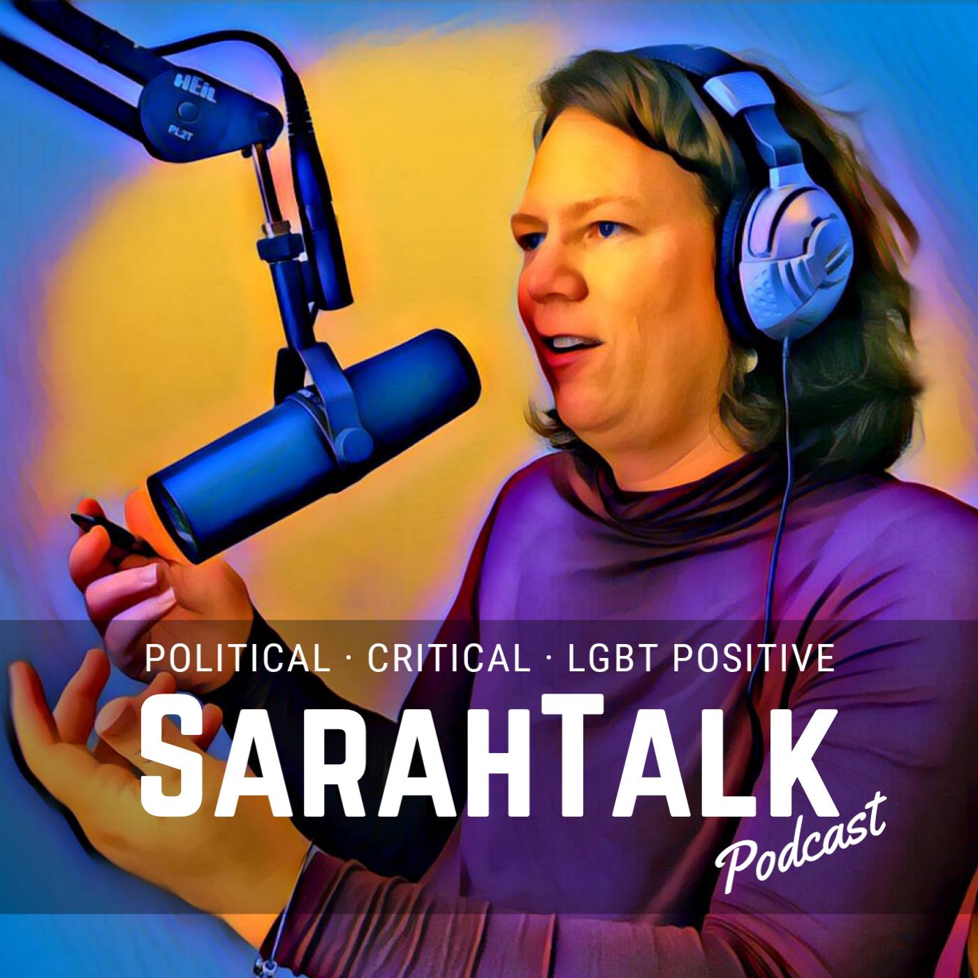 SarahTalk Podcast show art