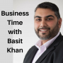 Artwork for Business Time...with Basit Khan #8