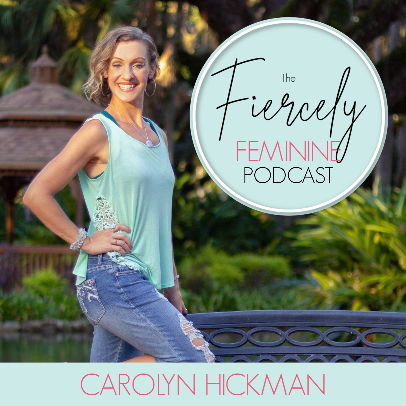 The Fiercely Feminine Podcast show art