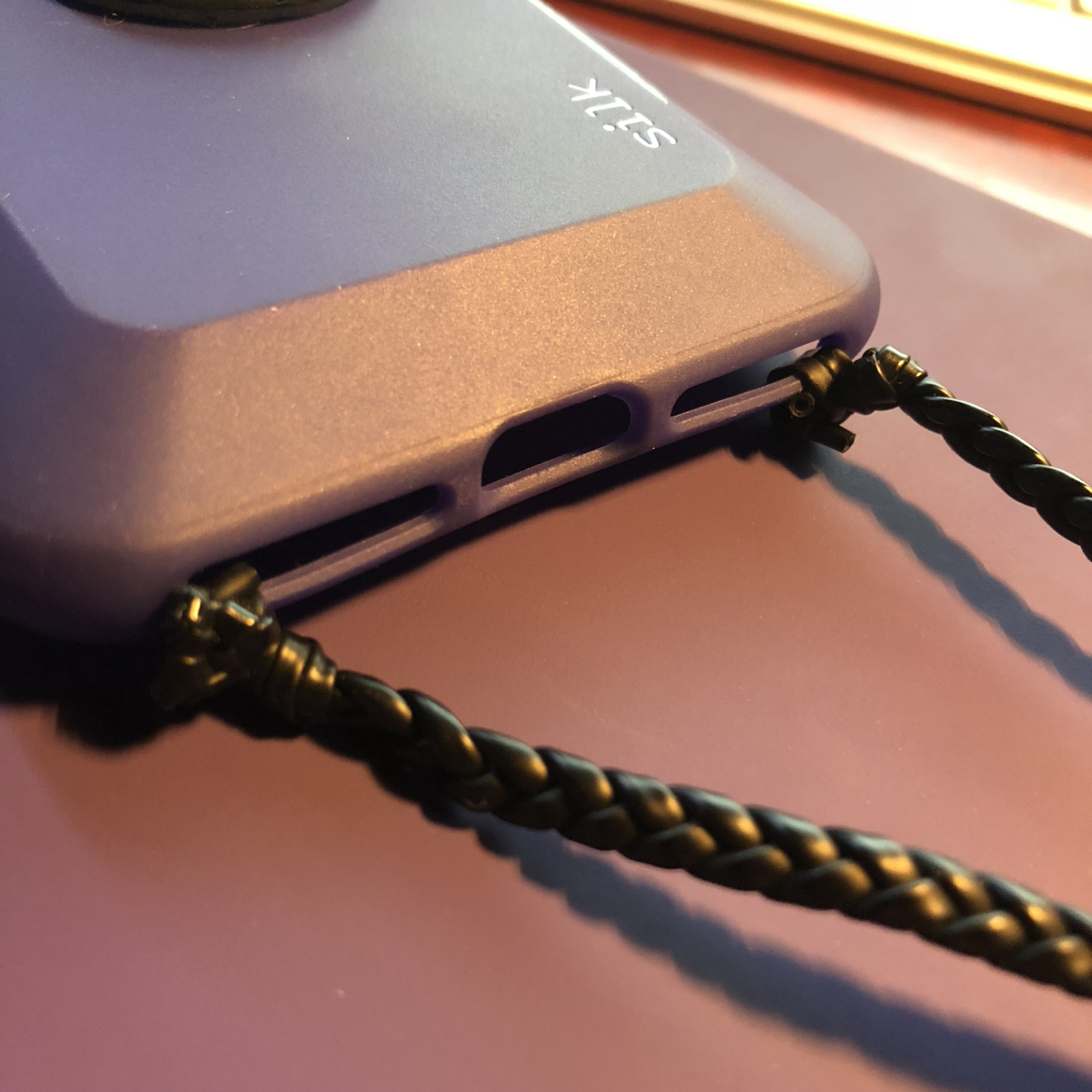 Melissa's iPhone case lanyard hack 3