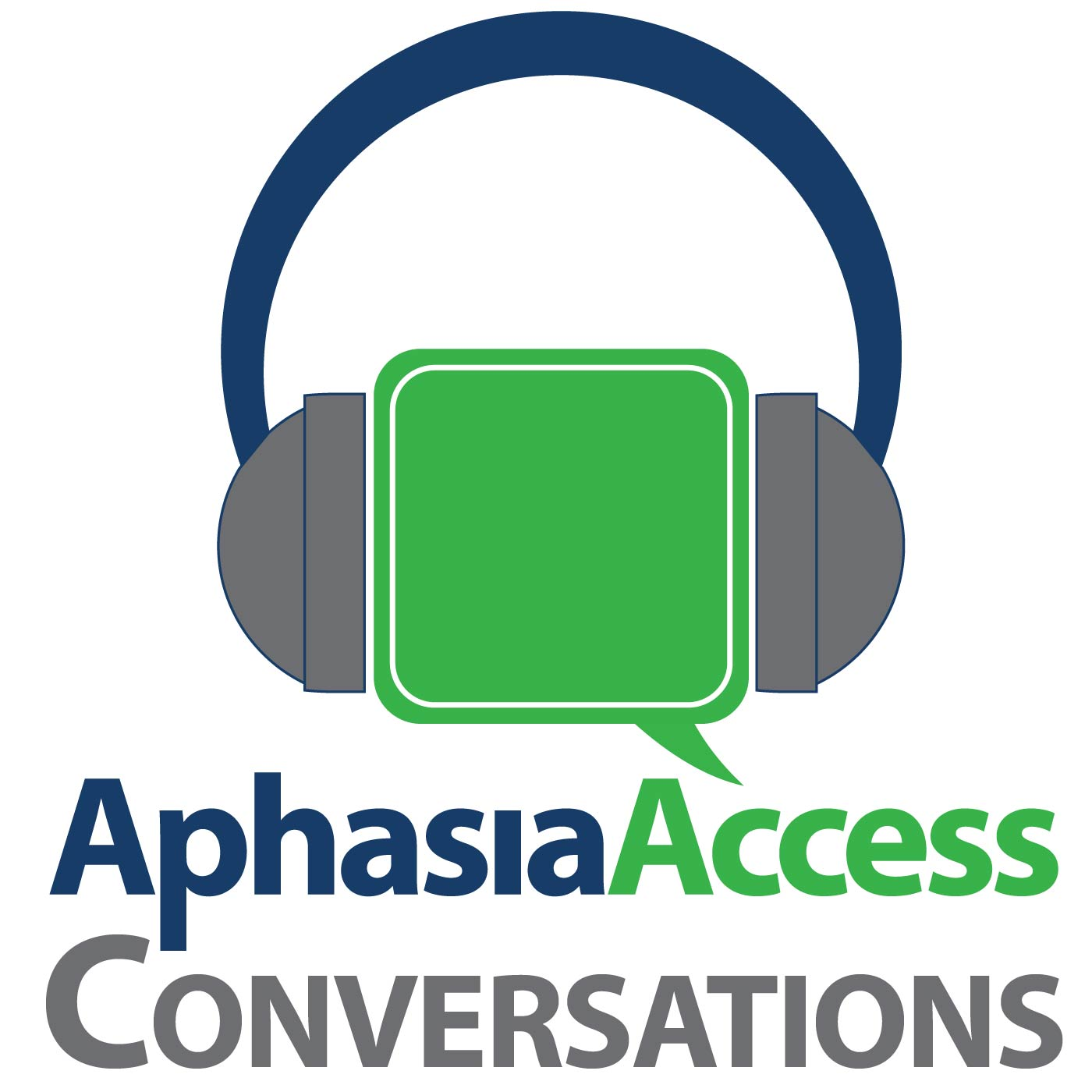 Aphasia Access Conversations show art
