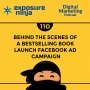 Artwork for #110: Behind The Scenes Of A Bestselling Book Launch Facebook Ad Campaign