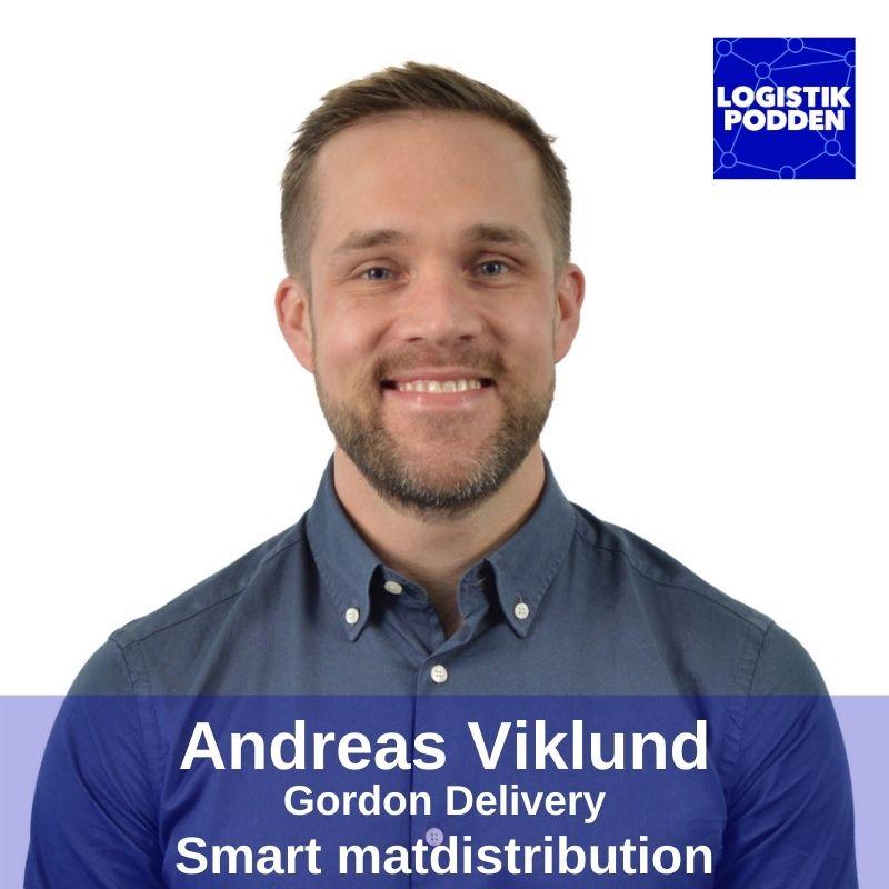Andreas Viklund från Gordon Delivery om smart matdistribution