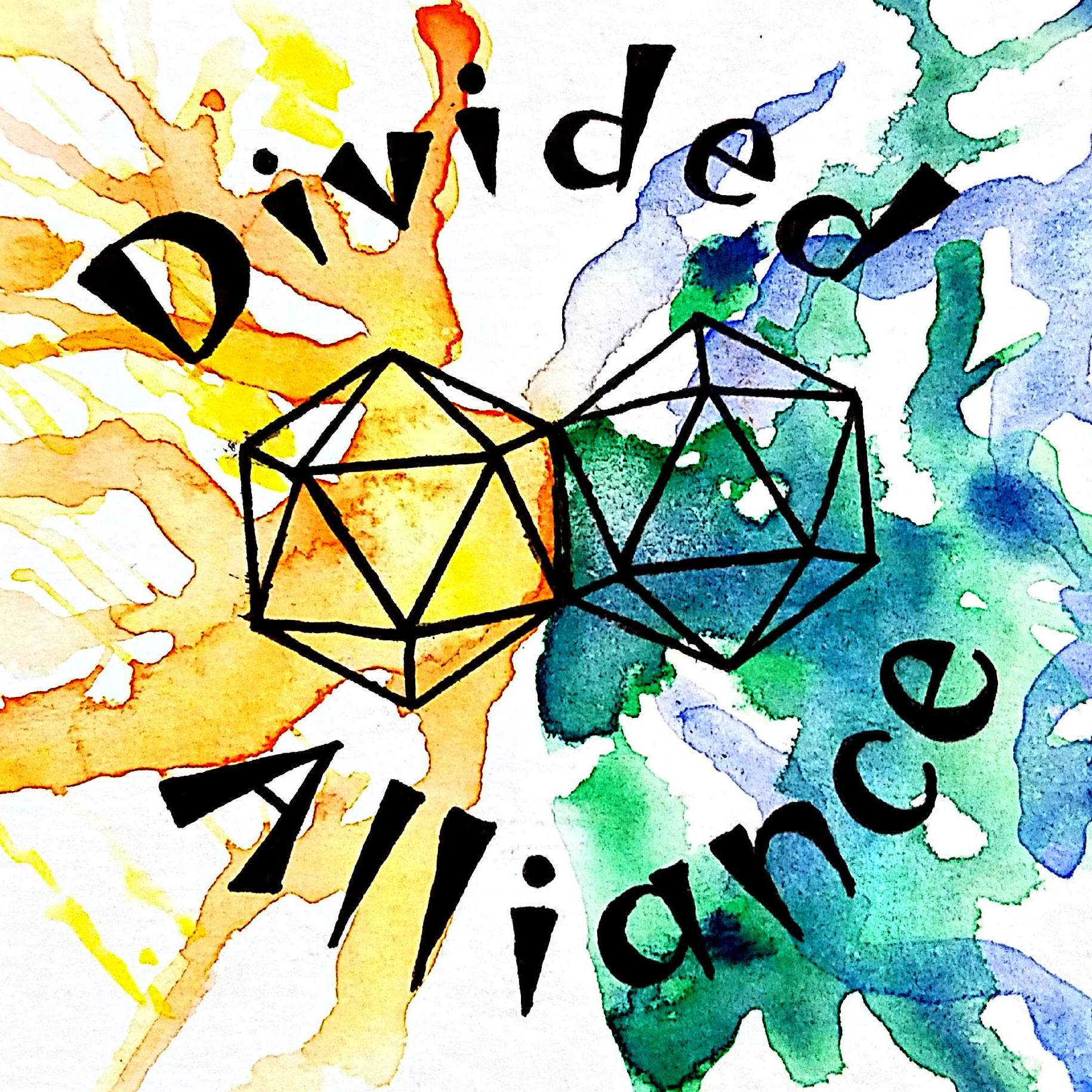 Divided Alliance Podcast show art
