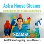Artwork for Scams Targeting House Cleaners
