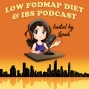 Artwork for #003 Patsy Catsos RD talks about IBS symptoms and what you should know before starting a low FODMAP diet