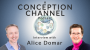 Artwork for Mind-Body Fertility Connection with Alice Domar | Conception Channel Podcast